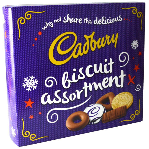 Cadbury Assorted Biscuit Carton (486g / 17.14oz)
