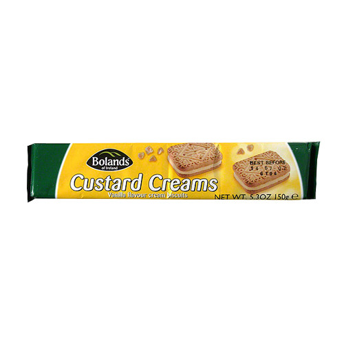 Bolands Custard Creams (150g / 5.3oz)