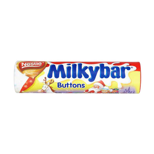 Nestle Milkybar Buttons Giant Tube (100g / 3.5oz)