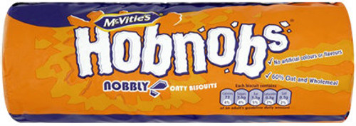 McVities Hobnob Biscuits (250g / 8.8oz)