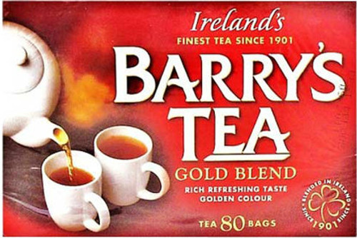 Barrys Gold Blend Irish Tea (80 teabags)