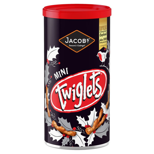 Jacobs Mini Twiglets Tube (200g / 7oz)