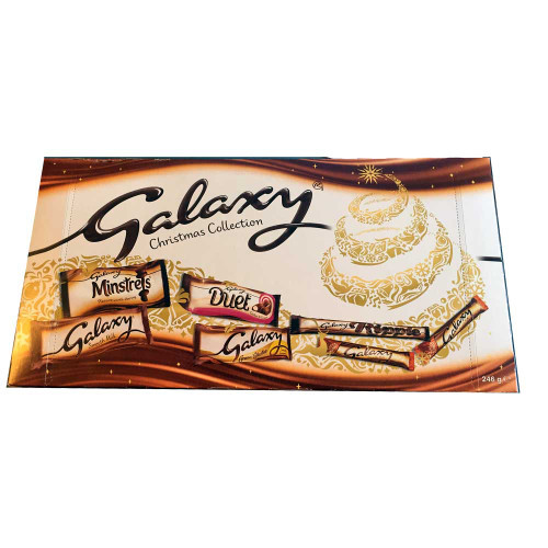 Galaxy Chocolate Collection Box 5946g / 89.1oz)