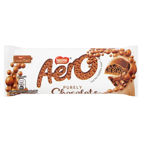 Nestle Aero Milk Chocolate Bar (36g / 1.26oz)