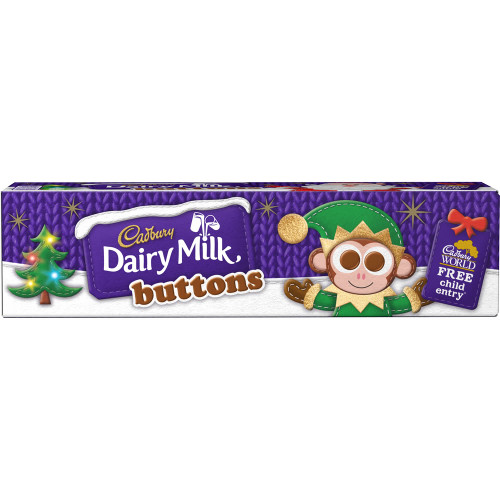 Cadbury Buttons Tube (72g / 2.5oz)
