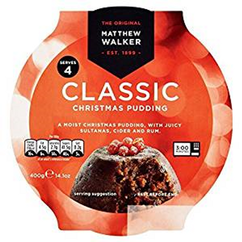 Matthew Walker Medium Christmas Pudding (400g / 14oz)