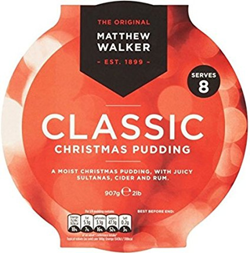 Matthew Walker Large Christmas Pudding (800g / 1.76lb)