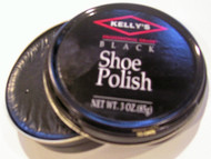 Kelly's 3oz Paste Wax Shoe Polish