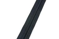 #3CF YKK® Nylon Self-Correcting Coil Zipper Chain, Black (91030CBK)