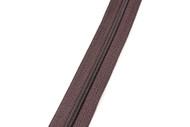#3CF YKK® Nylon Self-Correcting Coil Zipper Chain, Brown (91030CSB)