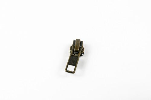 #5M G.P. Locking Slider, Antique Brass (90050TABAS)