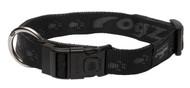 Rogz Alpinist Extra Large 25mm Everest Dog Collar, Black Rogz Design(HB27-A)