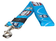 Rogz Fancy Dress Extra Extra Large 40mm Special Agent Fixed Dog Lead, Comic Design(HL04-BX)