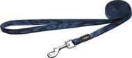 Rogz Alpinist Small 11mm Kilimanjaro Fixed Dog Lead, Blue Rogz Design(HL21-B)