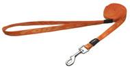 Rogz Alpinist Small 11mm Kilimanjaro Fixed Dog Lead, Orange Rogz Design(HL21-D)