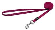 Rogz Alpinist Small 11mm Kilimanjaro Fixed Dog Lead, Pink Rogz Design(HL21-K)