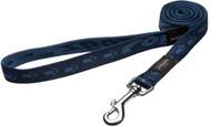 Rogz Alpinist Large 20mm K2 Fixed Dog Lead, Blue Rogz Design(HL25-B)