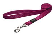 Rogz Alpinist Large 20mm K2 Fixed Dog Lead, Pink Rogz Design(HL25-K)