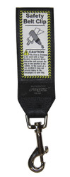 Rogz 45mm Safety Belt Clip, Black