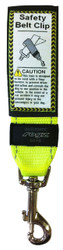 Rogz 45mm Safety Belt Clip, Dayglo Yellow