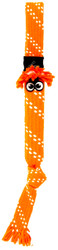 Rogz Scrubz Teeth Cleaning Dog Toy, Orange