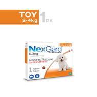 Nexgard Toy breeds 2-4kg