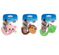 Duvo Cat Toy Assortment Animals Tail