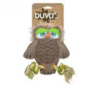 Duvo Dog Toy Canvas Owl