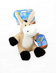 Duvo Dog Toy Godog Plush Donkey
