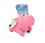 Duvo Dog Toy Godog Plush Pig