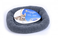 Duvo Sheepskin Bed Oval Grey Medium