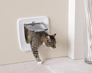 Savic Access Classic 4 way locking cat flap
