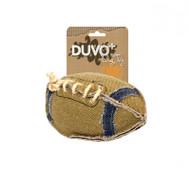 duvo dog toy canvas football