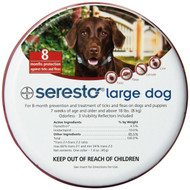 Bayer Seresto Collar Dog +8kg