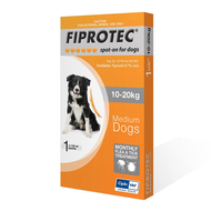 Cipla Fiprotech Dog Medium 10-20kg