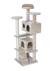 cb Pluto cat tree beige multi level