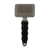 Duvo+ Beauty salon self cleaning slicker brush medium