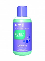 Luxury pearly shampoo with lanolin, is mild enough for regular use in dogs, cats and horses. Leaves coat soft, lustrous and pleasant smelling. It lathers richly and helps reduce offensive skin odours.