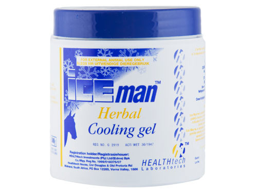 Ice Man Herbal Cooling Gel 500g cools and soothes to give temporary pain relief to tired, aching muscles.
