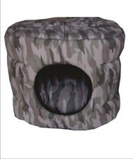 Cat Barrel Bed