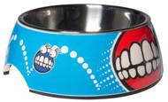 Rogz 2-in-1 Bubble Dog Bowl, Comic Design