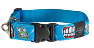 Rogz Fancy Dress Extra Extra Large 40mm Special Agent Dog Collar, Comic Design(HB04-BX)