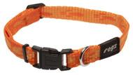 Rogz Alpinist Small 11mm Kilimanjaro Dog Collar, Orange Rogz Design(HB21-D)