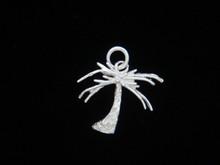 Silver Palm Tree Pendant