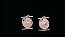 14K Gold Hurricane Hugo Earrings