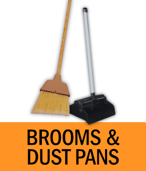 Shop Brooms and Dust Pans
