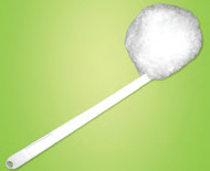 "14"" Toilet Bowl Bowl Swab Brush, Acrylic Fiber (Case of 12)"