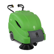 """IPC Eagle 512ET - 28"""" Walk-Behind Battery Sweeper - Free Shipping"""