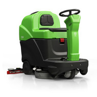 "IPC Eagle CT80BT60 - 24"" Heavy Duty Rider Scrubber 240ah Battery w/Pad Driver - Free Shipping"