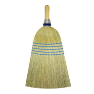 Blended 5 Sew Natural Green Janitor Broom